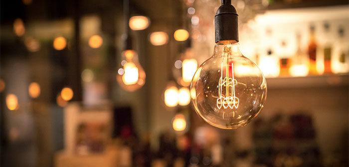 ampoules LED au style vintage