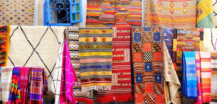 Les principaux modèles de tapis berbères.